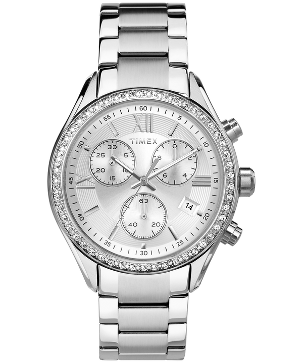 Montre Bracelet Miami 38mm Stainless-Steel/Silver-Tone large