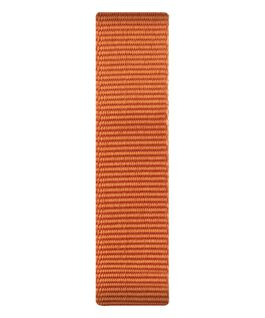 Bracelet une pièce en nylon orange  large