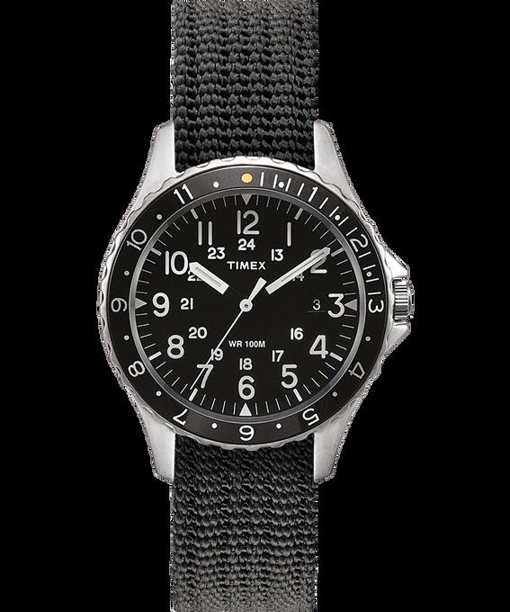 Navi Ocean 38mm Fabric Strap Watch Stainless-Steel/Gray/Black large