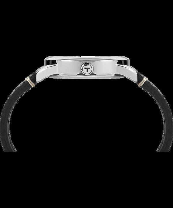 Montre Easy Reader Édition spéciale 40eanniversaire 38mm Bracelet en cuir Silver-Tone/Black/White large