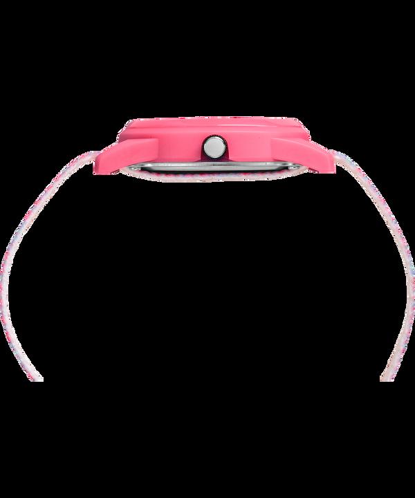 Montre Kids Analog 32mm Bracelet en nylon Pink/White large