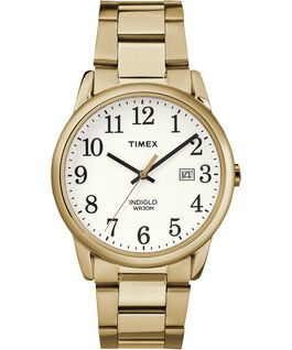 Montre bracelet Easy Reader 38mm Date Gold-Tone/White large