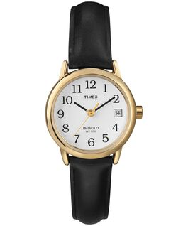 Montre Easy Reader 25 mm Bracelet en cuir Gold-Tone/Black/White large